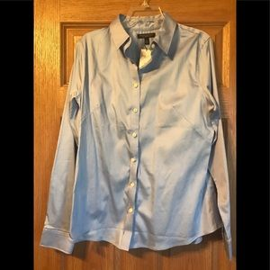 Non Iron Fitted Button Down Shirt